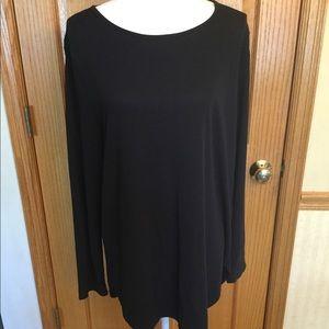 Calvin Klein black tunic